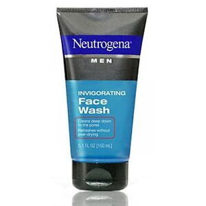 Neutrogena Men Invigorating Face Wash,5.1 OZ