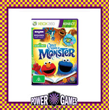 Sesame Street Once Upon a Monster (Microsoft Xbox 360) Brand New