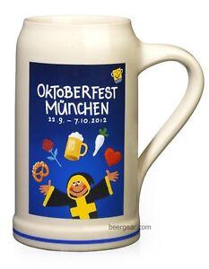 2012 Munich Oktoberfest Stein - 1 Liter - Mugs Stocked in USA by Beer Gear