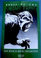 Bernie Wrightson Swamp Thing DC Promo Poster Vintage Rare 1980s Len Wein