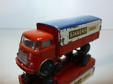 LION CAR DAF A50 TRUCK KIKKER - SIKKENS PROMO - RED 1:50 - GOOD CONDITION