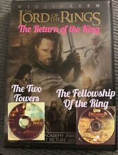 The Lord of the Rings The Video Trilogy Dvd 3-Disc Set Two Towers, Ring & Return