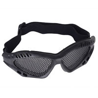 Hunting Airsoft Tactical Eyes Protection Metal Mesh Pinhole Glasses Goggles