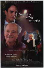 TUESDAYS WITH MORRIE Movie POSTER 27x40 Jack Lemmon Hank Azaria Wendy Moniz