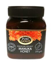 New Zealand Pure Gold Premium Select Manuka Honey 370+ Mgo 375g Active Honey