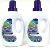 2 Bottles Clorox 51 Oz Fraganzia Lavender Eucalyptus 40 S Loads Fabric Softener