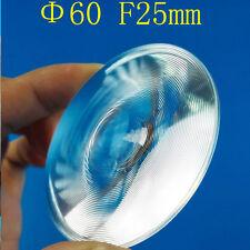2PC 60mm Dia Small Round Plastic LED Fresnel Condensing Light 3D VR Glasses Lens