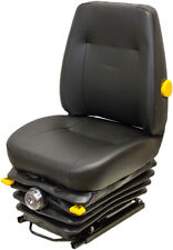 KAB 411 Black Vinyl Mechanical Suspension Seat For Ag and...