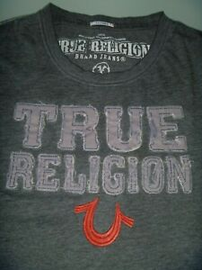 #8729 TRUE RELIGION T Shirt Size Large