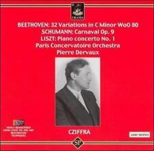 Cziffra Plays Beethoven, Schumann, Liszt, New Music