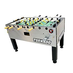 Valley Dynamo Tornado T-3000 Foosball Table Game - Coin Op -Single Goalie