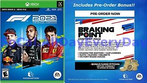 Formula 1 F1 2021 with Pre-Order Bonus (Xbox One and Series X, Physical) July 16