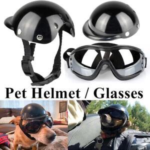 Einstellbare Hundebrille Haustier Motorradhelm UVBrille Pet Eyewear Sonnenbrille