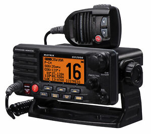Standard Horizon GX2000 Matrix VHF Marine Boat Radio with AIS/GPS Input &Hailer