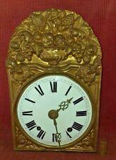 ANCIEN  MOUVEMENT MÉCANISME HORLOGE CLOCK COMTOISE XIXe