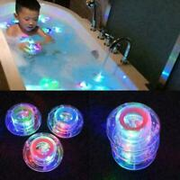 2X Boys Kids Bath Light Time Fun LED Light Up Toys Party In The Tub Waterproof