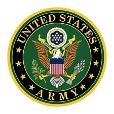 Official United States Army Seal Decal Vehicle Window or Tumbler Drinkware