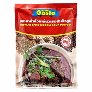 Instant Spicy Noodle Soup Powder Thai Boat Noodle 208g.(30 servings) +Tracking