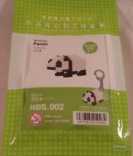 Kawada nanoblock Mini Animal Panda - japan building toy NBS_002 Worldwide