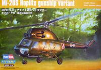 Hobby Boss: Mil mi-2US Hoplite gunship variant in 1:72