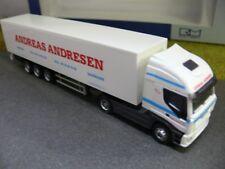 1/87 Rietze Iveco Stralis Andreas Andresen Dänemark DK Koffer-Sattelzug 60884