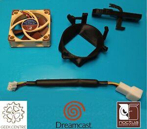 Noctua Silent Fan Mod Kit for Sega Dreamcast with genuine fan