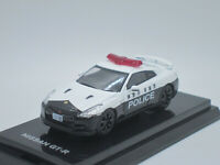Nissan Skyline GT-R R35 Kanagawa Japan Police 1/64 Diecast