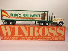 WINROSS TRUCK~ HEYDT'S MINI MARKET ~ 1988~ 1 OF 600 MADE