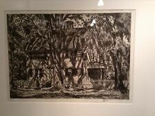 Museum Quality Framed Etching Childe Hassam American Impressionist 1920
