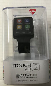 ✅ iTouch Air 2 Black Bluetooth Smart Watch 41mm with Heart Rate Monitor.
