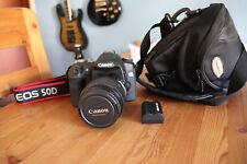 Canon EOS 50d muy poco usado, con 17-85 objetivamente, impecable