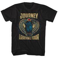 Journey Arrival Album Tour Men's T Shirt Scarab Beetle Rock Band Concert Merch
