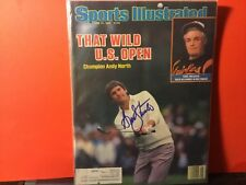 ANDY NORTH SIGNED 1985 SPORTS ILLUSTRATED/ U.S. OPEN/ GOLFER