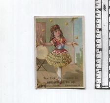 Antique AD Card - New York Life Insurance Co. - Providence RI