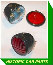 2 Lucas Style Rear Red Stop/Tail N/P Lamp for MG N Type Magnette NA NB 1934-36