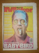 MELODY MAKER 1996 OCT 5 BABY BIRD PULP OASIS LEMONHEADS