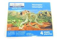 New & Sealed - Creatology Wooden Velociraptor Dinosaur Puzzle