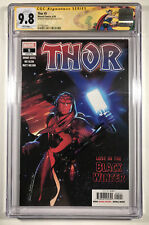 🔥THOR #5 CGC 9.8 SIGNED BY DONNY CATES 1ST APP OF THE BLACK WINTER