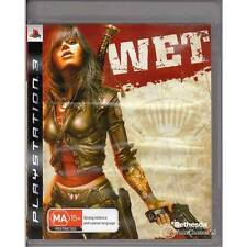 PLAYSTATION 3 WET PS3 PAL AUSTRALIAN ISSUE [LN]