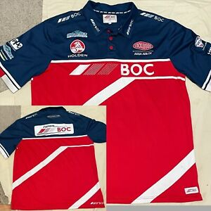 Team BOC Racing HOLDEN Polo Shirt Embroidered OFFICIAL MERCHANDISE XXL V8 RACING