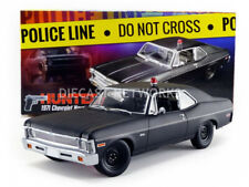 GMP - 1/18 - CHEVROLET NOVA POLICE - RICK HUNTER SERIES 1971 - 18903