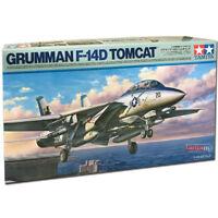 TAMIYA 61118 Grumman F-14D Tomcat 1:48 Aircraft Model Kit