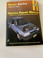 Haynes Repair Manual 72050 - 82 83 84 85 86 87 88 89 90 91 92-94 Nissan Sentra