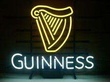"New Guinness Irish Whiskey Beer Neon Light Sign 17""x14"""