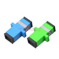 50/100/200Pcs SC Fiber Optic Connector Adapter SC Flange SM Simplex APC Coupler