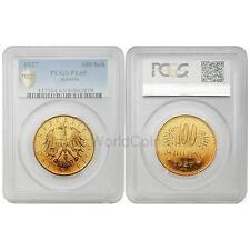 Austria 1927 100 Schilling Gold PCGS PL65