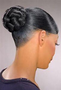 Foxy Silver Synthetic Hair Bun Pieces - Medium Honey Dome M  + Colors