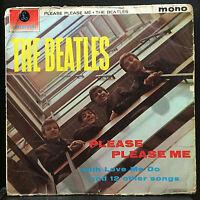 "The Beatles Please Please Me LP VG UK Mono PMC 1202 1963 ""KT"" Parlophone 4th"