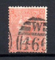 GB QV 4d vermillion SG94 Plate 10 fine used WS17719