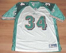 Ricky Williams #34 Miami Dolphins Throwback Jersey XL Teal White Reebok NFL